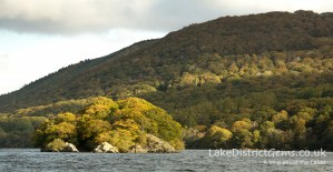 Peel Island on Coniston Water