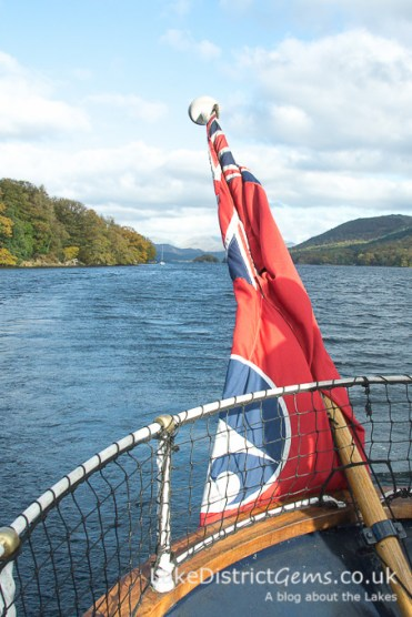 Coniston Water from Steam Yacht Gondola