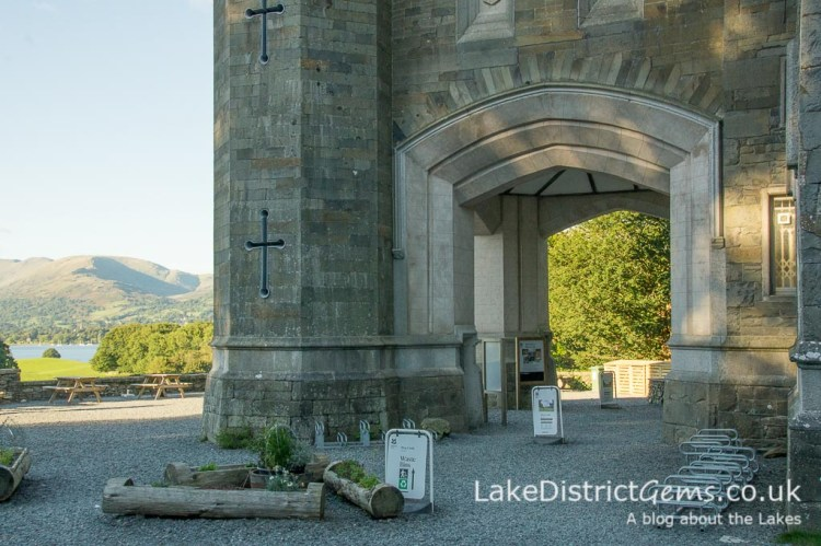 Wray Castle entrance