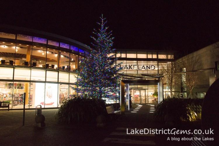 Lakeland, Windermere, at Christmas