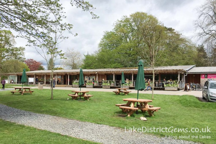Sizergh Castle café
