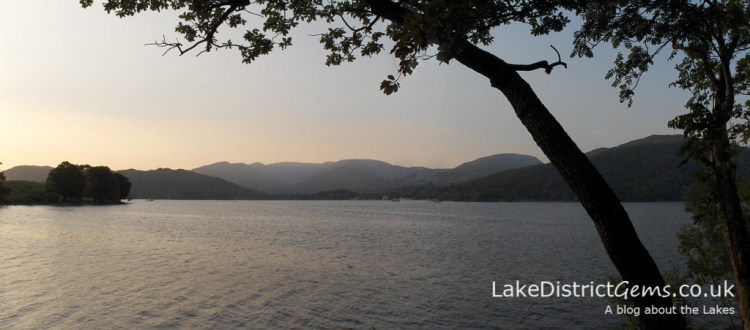 From the western shore of Windermere looking towards Ambleside