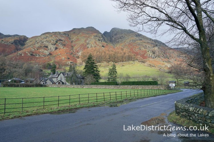 From the New Dungeon Ghyll car park