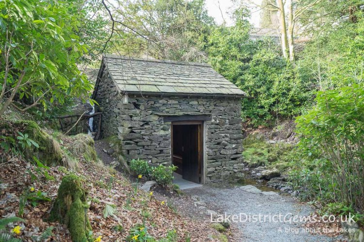 The 'Grot' at Rydal Hall