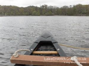 Kayaking on Derwentwater