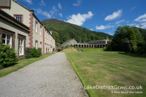On the Poetry Walk at Mirehouse, Bassenthwaite