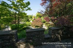 The rock garden at Sizergh