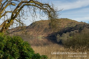 8. Which tranquil stretch of water am I walking around in the South Lakes?