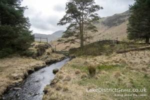 From the footbridge at Blea Tarn