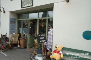 Vintage shop, Cartmel
