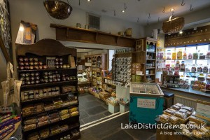 Inside the Cartmel Village Shop