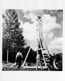 studies_building_construction_pile_driver_black_mountain_college_19401941