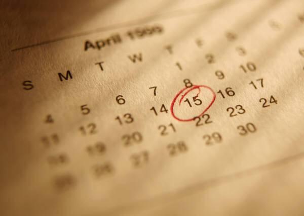 Race Calendar (1/2)