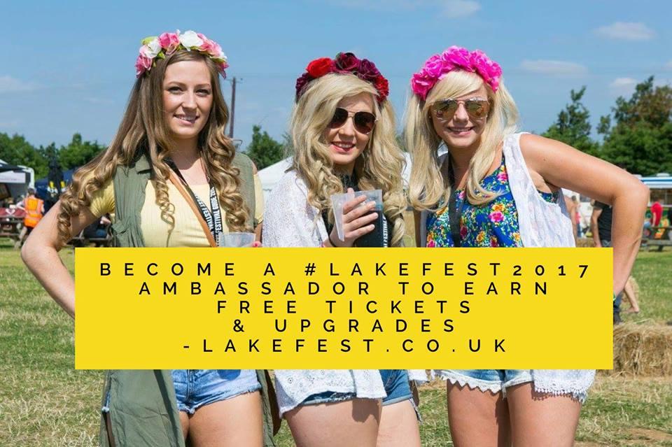 Become a Lakefest Ambassador