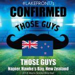 2018 Those Guys, Napier, New Zealand
