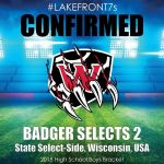 2018 Badger Selects 2, WI, USA