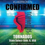 2018 Tornados, State Select-Side, IL, USA