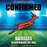 2018 Gazelles, Grand Rapids, MI, USA