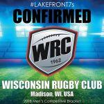 2018 Wisconsin Rugby Club, Madison, WI, USA
