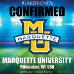 2018 Marquette University, Milwaukee, WI, USA