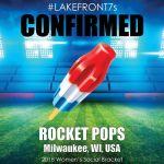 2018 Rocket Pops, Milwaukee, WI, USA