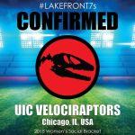 2018 UIC Velociraptors, Chicago, IL, USA