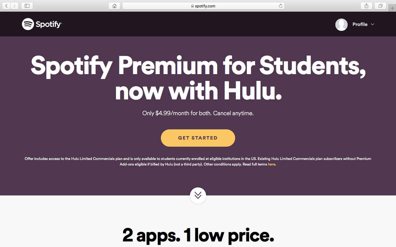 Student Discount On Spotify And Hulu – The Lake Front