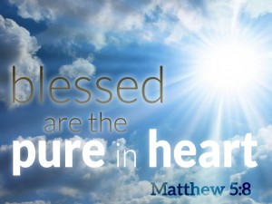 Image result for blessed are pure in heart