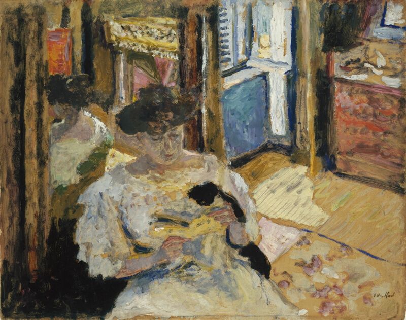 The Dressing Room Madame Hessel Reading At Amfrville The Art Institute Of Chicago
