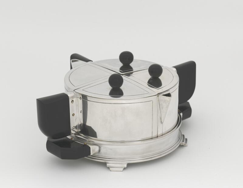 Set Tea Epns Plated Silver