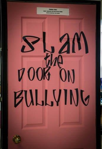 Slam the Door on Bullying