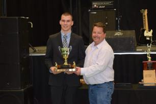 Matt Cook Unsung Hero Award winner Erik Donald Photo Credit: Bonnyville Pontiacs on Facebook