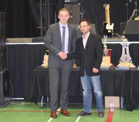 Inter Pipeline AJHL Scholarship Award winner Bobby McMann Photo Credit: Bonnyville Pontiacs on Facebook