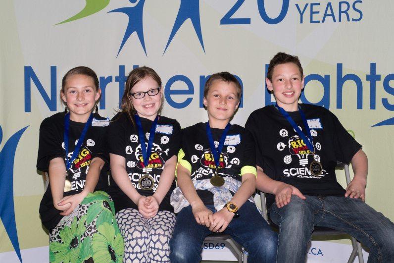 Ecole Plamondon School Team Pistachios – Jonah Ganovicheff, Alicia Haxby, Anna Ambanoudis, Ivan Ennest
