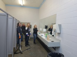 Left to Right: Twila Stafford, Lisa Warwara, Lori Poitras and Candy Bendixen