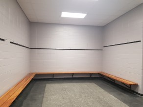 Completed change room