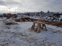 Construction at Ashmont School