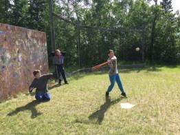 ball at camp