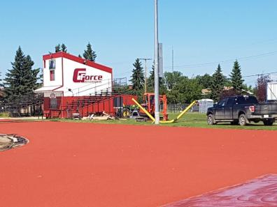 Walsh Field track