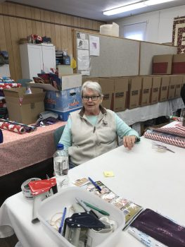 Community Lions member Sandy Kummetz