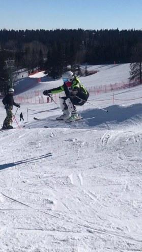 Eva Schafer at Snow Valley