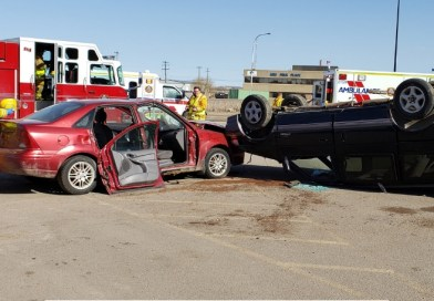 Mock collision simulates the grave results of drinking and driving