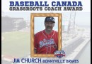 Jim Church wins national baseball award for coaching commitment