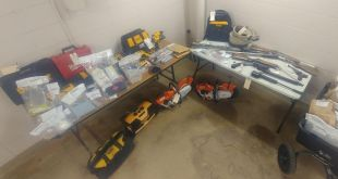 Vermilion RCMP lay 60 drugs, weapons, stolen property charges on three