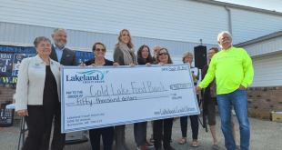 Lakeland Credit Union donates $100K to food banks