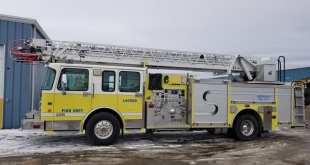 Town purchases aerial truck for Fire Department