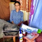 """""""This is Johanna. She lost her husband to an acute illness right as the pandemic hit. He was the main provider for the family. She now is a single mom of 3 small children. When I was there in October I took my 9 year old son with me to deliver a food hamper to her, clothes, and school supplies. She showed me with pride her kids school pictures from the year before when life was still """"normal"""". They had a normal life, a decent home and food on the table. Johanna expressed all she wanted was an ability to work and provide. If the area still had tourism she knows she could have worked in any of the resorts as a cleaning lady or any other entry level job. In the meantime, she sells hotdogs, cookies, and drinks around her neighbourhood to earn something but her children are now often going to bed hungry, so she starves herself to keep her little ones alive,"""" said Duarte in a follow up e-mail."""