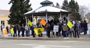 """Enough is Enough rally sees protestors gather to oppose """"unreasonable restrictions"""""""