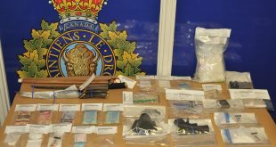 Vermillion RCMP Vehicle stop leads to seizure of drugs, money, weapons and a stolen travel trailer