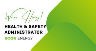 EMPLOYMENT OPPORTUNITY: BOON ENERGY – Health and Safety Administrator